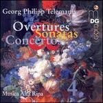 Telemann: Overtures, Sonatas & Concertos, Vol. 4 - Anne Röhrig (violin); Bernward Lohr (harpsichord); Christoph Heidemann (viola); Danya Segal (recorder);...