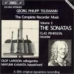 Telemann: The Complete Recorder Music, Vol. 3 - The Sonatas