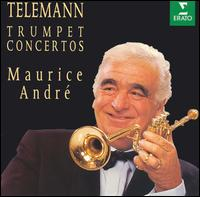 Telemann Trumpet Concertos - Daniel Arrignon (oboe); Ensemble Orchestral de Paris; Guy Touvron (trumpet); Jacques Chambon (oboe);...