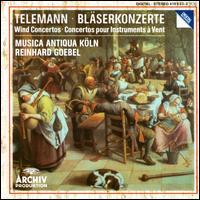 Telemann: Wind Concertos - Eric Hoeprich (chalumeau); Friedemann Immer (trumpet); Hans-Peter Westermann (oboe); Lisa Klewitt (chalumeau);...