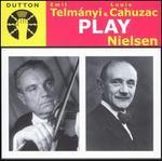 Telmányi & Cahuzac play Nielsen