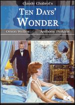 Ten Days' Wonder - Claude Chabrol