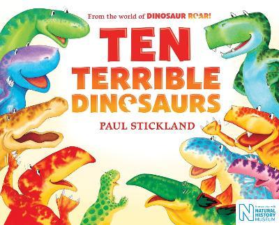Ten Terrible Dinosaurs - Stickland, Paul