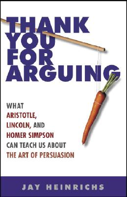 thank you for arguing notes Summer reading instructions for ap language and composition assignment or thank you for arguing by jay heinrichs write a summary of at least 5 key points in each of the five sections: introduction.