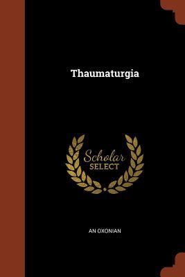 Thaumaturgia - An Oxonian