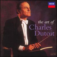 The Art of Charles Dutoit [Bonus DVD] - Armas Maiste (piano); Emilio Iacurto (clarinet); James Earl Barnes (cimbalom); James Thomson (trumpet);...
