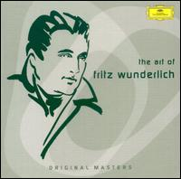 The Art of Fritz Wunderlich [Box Set] - Alois Pernerstorfer (vocals); Antonia Fahberg (vocals); August Messthaler (bass); Brigitte Fassbaender (vocals);...