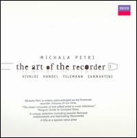 The Art of the Recorder - George Malcolm (harpsichord); Graham Sheen (bassoon); Michala Petri (recorder); Academy of St. Martin in the Fields