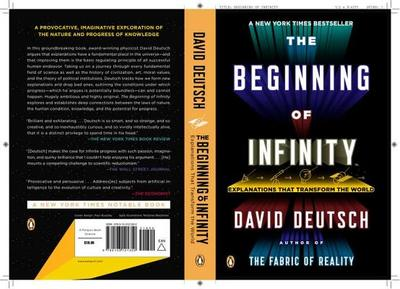 The Beginning of Infinity: Explanations That Transform the World - Deutsch, David