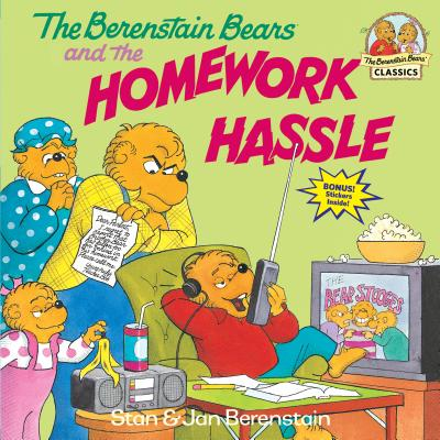 The Berenstain Bears and the Homework Hassle - Berenstain, Stan, and Berenstain, Jan