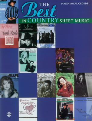The Best in Country Sheet Music - Various, and Cuellar, Carol (Editor)