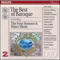 The Best of Baroque - André Bernard (trumpet); André Pépin (flute); Gino del Vescovo (mandolin); Henry Adelbrecht (trumpet);...
