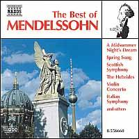 The Best of Mendelssohn - Benjamin Frith (piano); Péter Nagy (piano); Takako Nishizaki (violin); Slovak Philharmonic Orchestra