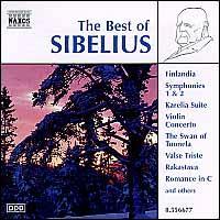 The Best of Sibelius - Dong-Suk Kang (violin); Capella Istropolitana (choir, chorus)