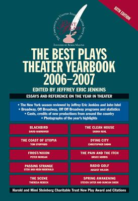 The Best Plays Theater Yearbook - Jenkins, Jeffrey Eric (Editor)