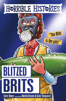 The Blitzed Brits - Deary, Terry