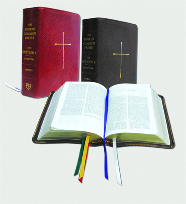 The Book of Common Prayer and Bible Combination (NRSV with Apocrypha): Black Bonded Leather - Church Publishing