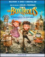 The Boxtrolls [2 Discs] [Includes Digital Copy] [UltraViolet] [Blu-ray/DVD] - Aaron Sorenson; Anthony Stacchi; Graham Annable
