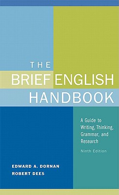 The Brief English Handbook - Dornan, Edward a