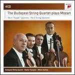 "The Budapest String Quartet play Mozart: The 6 ""Haydn"" Quartets, The 6 String Quintets"