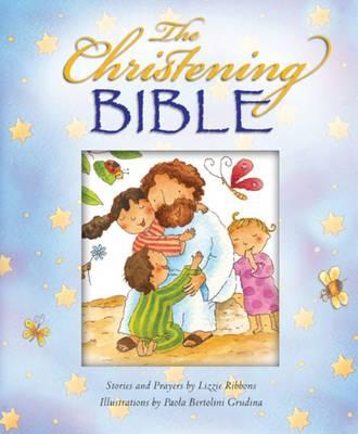 The Christening Bible (Blue) - Ribbons, Lizzie, and Grudina, Paola Bertolini