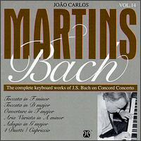 The Complete Keyboard Works of Bach on Concord Concerto - João Carlos Martins (piano)