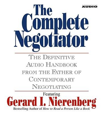 The Complete Negotiator - Nierenberg, Gerard I