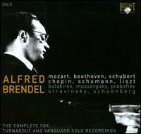 The Complete Vox, Turnabout and Vanguard Solo Recordings - Alfred Brendel (piano); I Solisti di Zagreb; Members of the Hungarian Quintet; Vienna Volksoper Orchestra;...