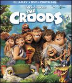 The Croods [2 Discs] [Includes Digital Copy] [Blu-ray/DVD] - Chris Sanders; Kirk De Micco