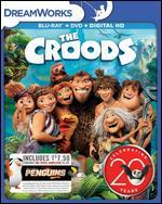The Croods [Includes Digital Copy] [Blu-ray/DVD] [Movie Money]