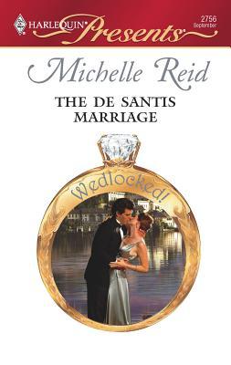 The de Santis Marriage - Reid, Michelle