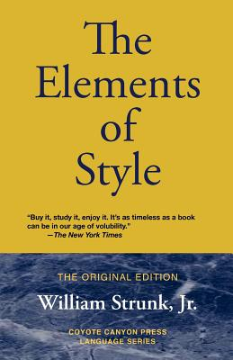 The Elements of Style - Strunk, William Jr