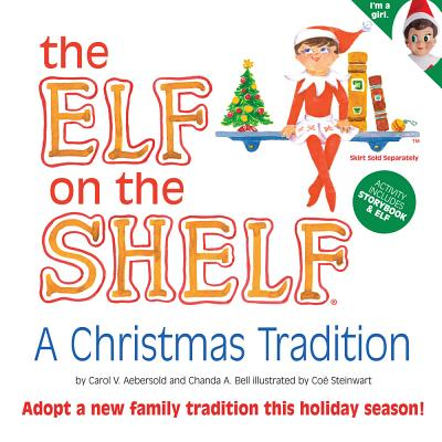 The Elf on the Shelf Girl Light Doll with Book: A Christmas Tradition - Aebersold, Carol V