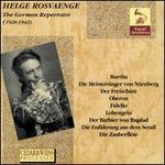 The German Repertoire (1928-1942)