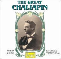 The Great Chaliapin - Cedric Sharpe (cello); Feodor Chaliapin (bass); G. Pozemkovsky (tenor); Ivor Newton (piano); Jean Bazilevsky (piano);...