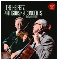 The Heifetz Piatigorsky Concerts [2012] - Allan Harshman (viola); Arnold Belnick (violin); Arthur Rubinstein (piano); Gabor Rejto (cello); Gregor Piatigorsky (cello);...