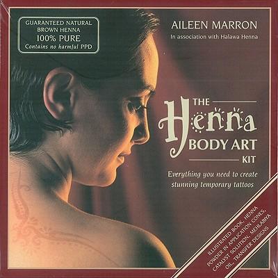 The Henna Body Art Kit: Everything You Need to Create Stunning Temporary Tattoos - Marron, Aileen, and Henna, Halawa