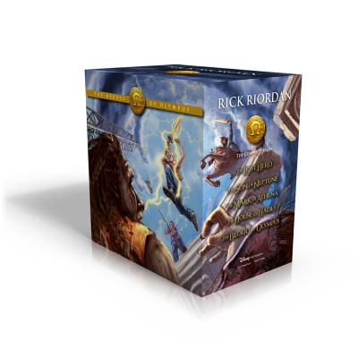 The Heroes of Olympus Paperback Boxed Set - Riordan, Rick