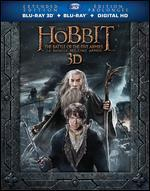 The Hobbit: The Battle of the Five Armies [Extended Edition] [3D] [Blu-ray/DVD] [5 Discs]