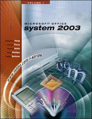 The I-Series Microsoft Office 2003 Volume 1 - Haag, Stephen