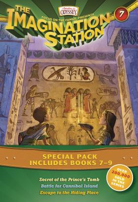 The Imagination Station Special Pack, Books 7-9: Secret of the Prince's Tomb/Battle for Cannibal Island/Escape to the Hiding Place - Hering, Marianne, and Younger, Marshal, and Batson, Wayne Thomas