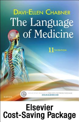 The Language of Medicine - Text and Elsevier Adaptive Learning Package - Chabner, Davi-Ellen