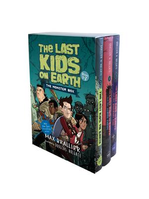 The Last Kids on Earth: The Monster Box (Books 1-3) - Brallier, Max, and Holgate, Douglas (Illustrator)