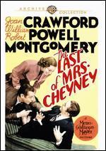 The Last of Mrs. Cheyney - Dorothy Arzner; George Fitzmaurice; Richard Boleslawski
