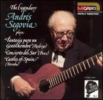 The Legendary Andr�s Segovia plays Fantasia para un Gentilhombre, Concierto del Sur, Castles of Spain