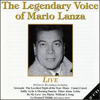The Legendary Voice of Mario Lanza - Mario Lanza (vocals)