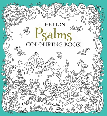 The Lion Psalms Colouring Book - Jackson, Antonia