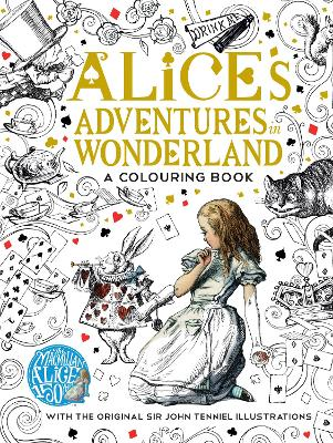 The Macmillan Alice Colouring Book - Carroll, Lewis