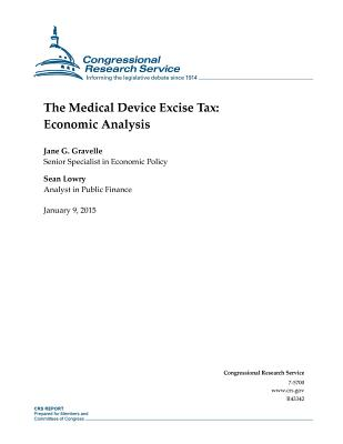 The Medical Device Excise Tax: Economic Analysis - Congressional Research Service