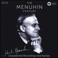 The Menuhin Century: Unpublished Recordings and Rarities - Ambrose Gauntlett (viola da gamba); Archie Camden (bassoon); Artur Balsam (piano); Barry Tuckwell (horn);...